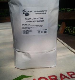 Czerkieska mąka orkiszowa ciemna