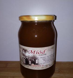 Miód Lipowy 1,2 kg